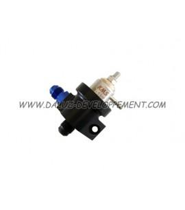 Régulateur d'essence 2 voix 0-5 bar ajustable - KMS