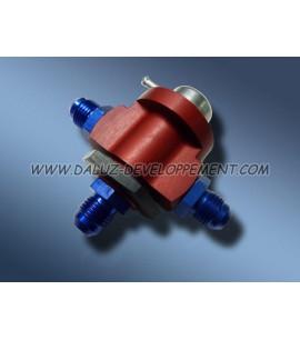Régulateur d'essence 3 voix 0-5 bar ajustable - KMS