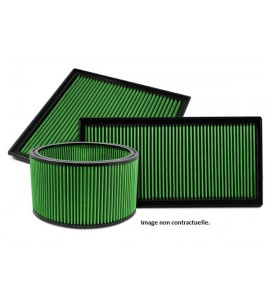 Filtre sport GREEN Mitsubishi LANCER X 2.0L 16V RALLIART 240CV - GREEN FILTER