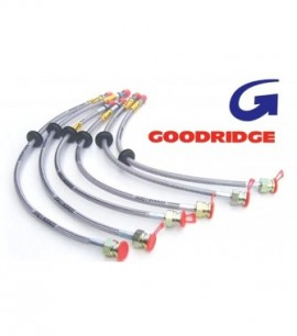 Kit durites de freins Goodridge Fiat Punto MK2 tambour arrière de 1999 à 2004