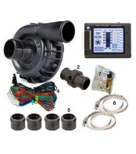 POMPE A EAU ELECTRIQUE 115 LITRES/MINUTE + CONTROLEUR LCD