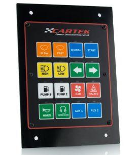 Panneau de distribution électrique CARTEK 16 canaux (livré sans connecteurs)