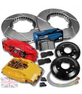 "FIAT 20V COUPE 18""/ KIT FREINS COMPBRAKE PRO RACE 7"