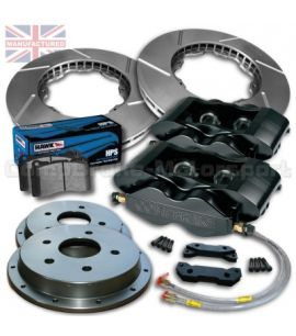 "FORD ESCORT RS TURBO 15""/ KIT FREINS COMPBRAKE 4 PISTONS PRO RACE 3"