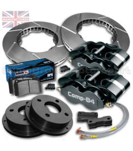 "FORD FIESTA MK3 15"" / KIT FREINS COMPBRAKE PRO RACE 2"