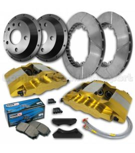 "FORD FIESTA MK6 17"" / KIT FREINS COMPBRAKE PRO RACE 6"