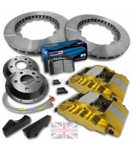"FORD FIESTA MK7/8 17"" / KIT FREINS COMPBRAKE PRO RACE 6"