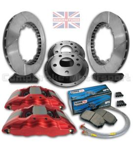 "FORD FIESTA MK7/8 18"" / KIT FREINS COMPBRAKE PRO RACE 6"