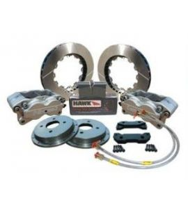 OPEL ASTRA MK3 / KIT FREINS COMPBRAKE PRO RACE 3 / 4 PISTONS