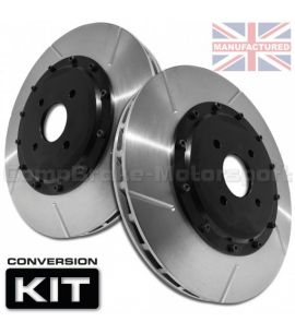 KIT DE CONVERSION DE DISQUES DE FREIN AVANT COMPBRAKE / FORD SIERRA & ESCORT COSWORTH 4WD / 330 mm x 32 mm