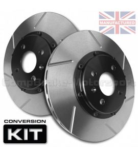 "KIT DE CONVERSION DE DISQUES DE FREIN ARRIERE COMPBRAKE / SEAT ALTEA 2LTR FSI TDI 16"" (2004)/ 312 mm x 25 mm"