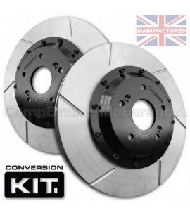 KIT DE CONVERSION DE DISQUES DE AVANT COMPBRAKE / SKODA OTAVIA MK2 PR-ILL / IRP+R5 / 312 mm x 25 mm