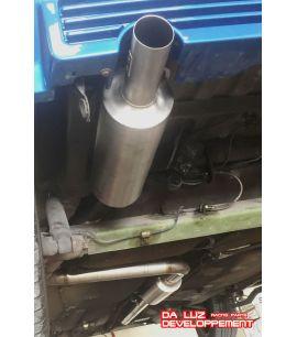 LIGNE INOX DE SUPER 5 GT TURBO