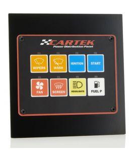 Panneau de distribution électrique CARTEK 8 canaux (livré sans connecteurs)