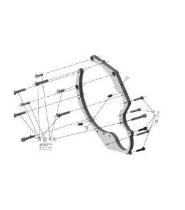 Kit entretoise FordRS/Volvo 5 cylindres