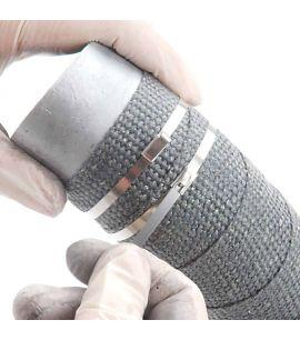10 colliers metalliques acier 4.6 mm x 30.00 cm