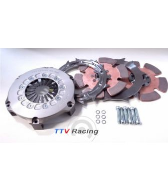 KIT COMPLET / embrayage TTV RACING- BI-DISQUES 184 mm