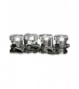 Kit Pistons forgés WISECO PEUGEOT XU10J4 / 2,0L 16 V / 86,25 mm TURBO / RV 8,5:1 / axe de 23 mm