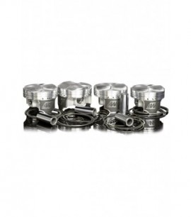Kit Pistons forgés WISECO PEUGEOT XU10J4 RS / 2,0L 16 V / 86,25 mm / RV 11,5:1 / axe de 20 mm