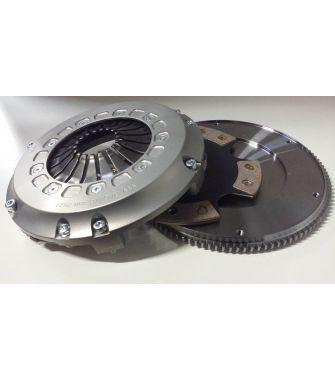 Kit volant moteur acier + embrayage mono-disques TTV RACING / MEGANE 3 RS / 230 MM
